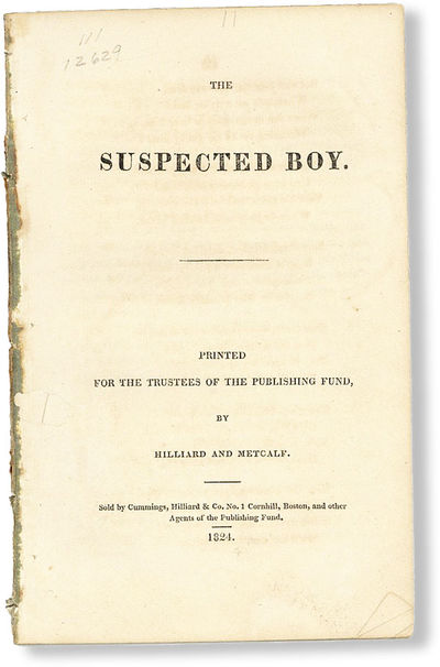 : Printed for the Trustees of the Publishing Fund, by Hilliard and Metcalf / Sold by Cummings, Hilla...