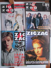 image of Zigzag: nos. 109, 111, 120 and Vol 2 no. 3 January, March and December  1981 and December 1984