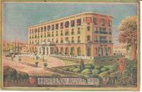 image of Hotel Du Roy Rene, Aix-en-Provence, France Postcard 1946 WWII Soldier's Mail
