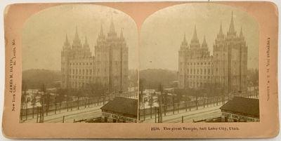 Littleton, NH: B.W. Kilburn, 1900. Stereoview. Silver gelatin photograph on a tan curved mount . Mou...