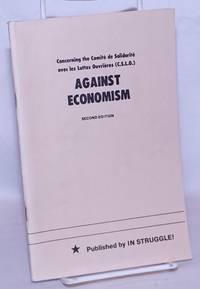 image of Concerning the Comité de solidarité avec les luttes ouvrières (C.S.L.O.): Against economism. Second edition