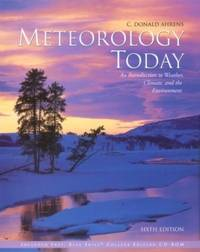 image of Meteorology Today: An Introduction to Weather, Climate, and the Environment