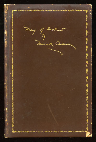 Washington: Anderson House, 1933. Hardcover. Near Fine. First edition, limited edition. Near fine in...