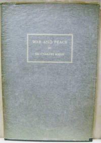 War and Peace:  A Statement Made before the Political Committee of the  General Assembly, November 23, 1949