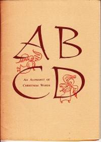 An Alphabet of Christmas Words - LIMITED EDITION, No. 83 Typophiles Monograph