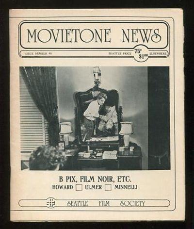 Seattle: The Seattle Film Society. Near Fine. 1976. (No. 48). Stapled wraps. . (B&W photographs) Spe...