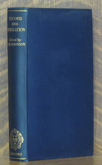 image of RECORD AND REVELATION - ESSAYS ON THE OLD TESTAMENT...