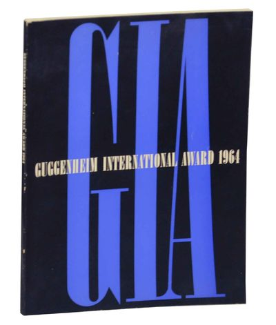 New York: Solomon R. Guggenheim Museum, 1963. First edition. Softcover. 122 pages. Exhibition catalo...