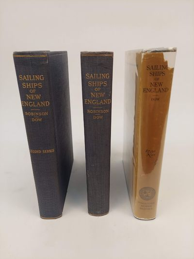 Salem, Mass: Marine Research Society, 1922-1928. First Edition. Hardcover. large 8vos., 3 volumes; V...