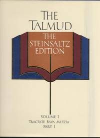 Talmud, The - The Steinsaltz Edition, Volumes 1-3 and the Reference Guide