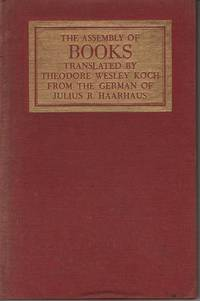 The Assembly of Books Translated from the German