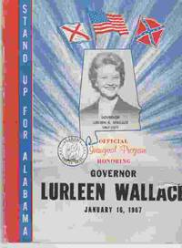 Official Inaugural Program Honoring Governor Lurleen Wallace January 16,  1967