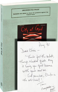 image of City of God (Uncorrected Proof, inscribed to Chris Offutt)