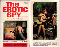The Erotic Spy, featuring The Gold Girl (Vintage adult paperback, 1968)