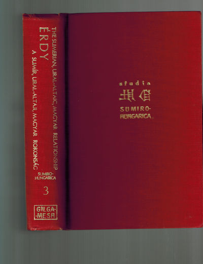 New York: Gilgamesh Publishing Co., 1974. Text in English and Hungarian. . First Edition. Cloth. Fin...