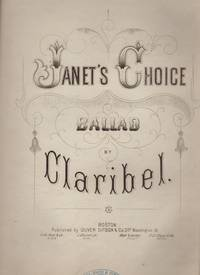 image of JANET'S CHOICE, Ballad.