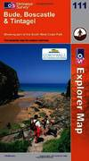 image of Bude, Boscastle and Tintagel (OS Explorer Map Series) (OS Explorer Map Active)