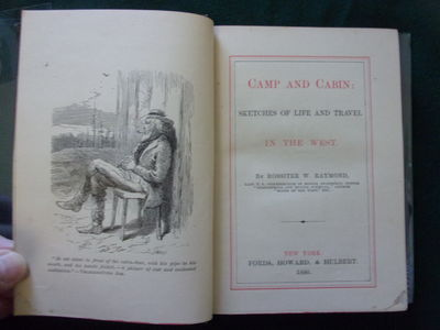 CAMP AND CABIN; SKETCHES OF LIFE AND...