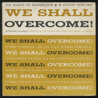 [Vinyl Record]: We Shall Overcome! The March on Washington August 28th 1963