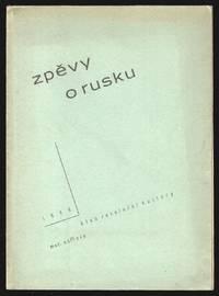 Zpěvy o Rusku [Songs about Russia]. From the Russian by Jaroslav Teichmann.; Van, edice krásné literatury, sv. 3