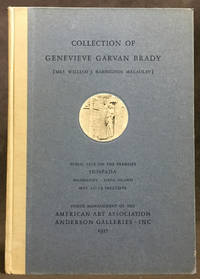Collection of Genevieve Garvan Brady [Mrs. William J. Babington Macaulay]: Antique Furniture, Tapestries, Rugs, and Other Art Property Including Four Famous Gothic Tapestries and a Superb Sixteenth Century Ispahan Carpet