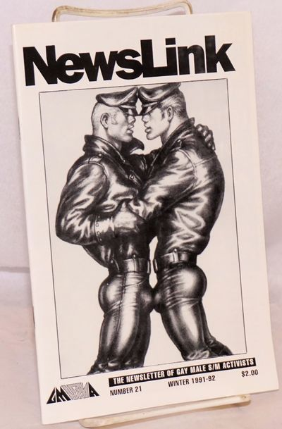 New York: Gay Male S/M Activists, 1991. 36p., 5.5x8.5 inches, features, ads, reviews, resources, pho...