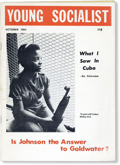 : Young Socialist, 1964. First Edition. Small quarto (24cm.); publisher's white photo-illustrated st...