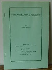 General Mosquera's Mission to Chile and Peru: a Turning Point in New Granadan Diplomacy by John W. Kitchens - Hardcover - Signed - 1972 - from Books from Benert (SKU: 000412)