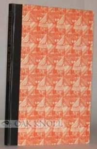 Brooklyn: George McKibbin & Son, 1949. cloth-backed decorated paepr covered boards. 8vo. cloth-backe...