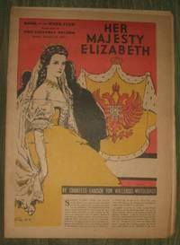 image of Her Majesty Elizabeth of Austria      Philadelphia Record Supplement February 10 1935