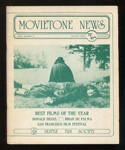 Seattle: The Seattle Film Society. Near Fine. 1977. (No. 53). Stapled wraps. . (B&W photographs) Fea...