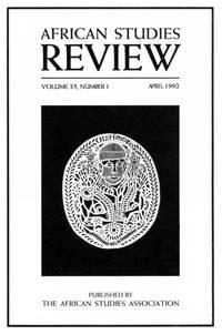 African Studies Review; Vol 35, No 1, April 1992