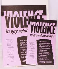 image of Violence in Gay Relationships [three handbills]