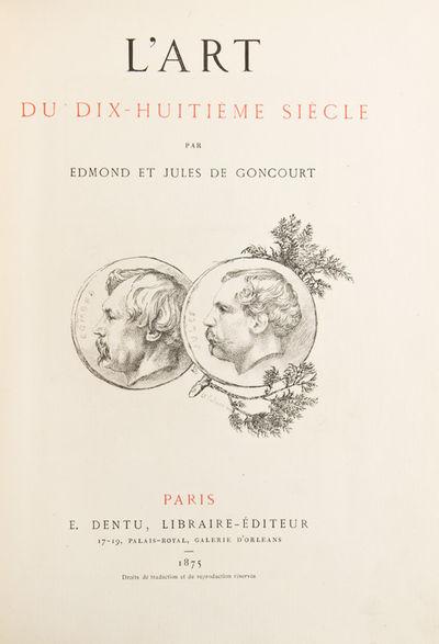 Paris: E. Dentu, 1859. First edition. Title and 38 eau-forte engravings by Jules de Goncourt, most a...