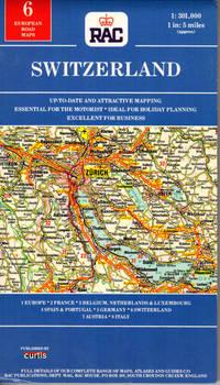 European Road Maps:  Switzerland 1:301 000