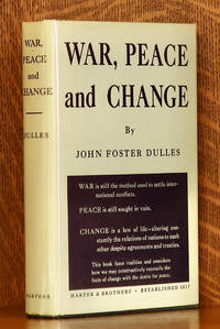 image of WAR, PEACE AND CHANGE