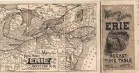 image of WESTERN SECTION, ERIE, POCKET TIME TABLE.; R.H. Soule, Gen'l Manager.  L.P. Farmer, Gen'l Pass'r Agt