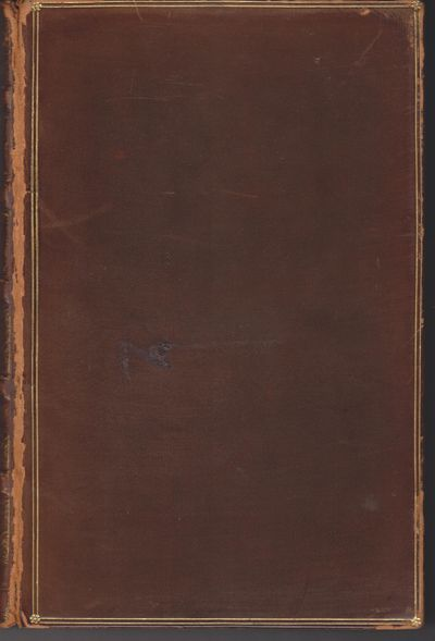 New York: Charles Scribner's Sons. 1907. Reprint. Hardcover. Very good fully bound in leather, smoot...