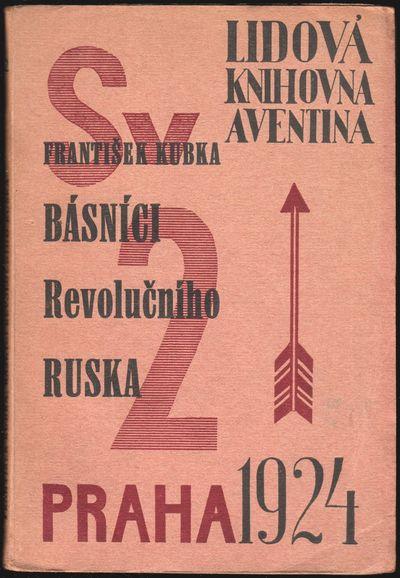 Prague: Aventinum, 1924. Small octavo (16.7 × 11.5 cm). Original typographically illustrated wrappe...