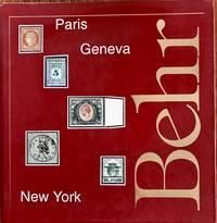 Pascal and Bernard Behr Anphilex 1996 Treaty Sale