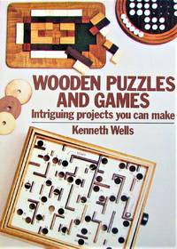 image of Wooden Puzzles and Games. Intriguing Projects you can Make