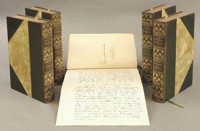 Boston and New York: Houghton Mifflin Company, 1906. Twenty volumes. Publisher's three quarter green...