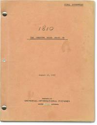 image of The Creature Walks Among Us (Original screenplay for the 1956 film, script supervisor's copy)