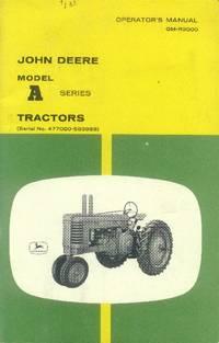 image of John Deere Model A Series Tractors Operator's Manual OM-R2000