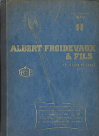 Albert Froidevaux & Fils. Catalogue No 16 / II - 1949
