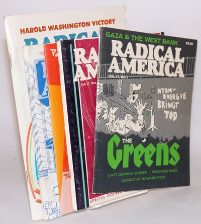 Somerville, MA: Radical America, 1983. Full year run, wraps, no. 2-3 is a double issue, and no. 6 is...