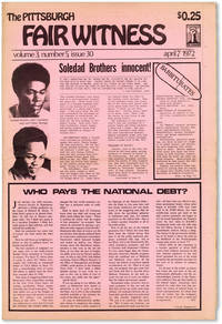 The Pittsburgh Fair Witness - Vol.3, No.5 (April 7, 1972)