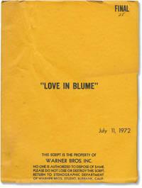 image of Blume in Love [Love in Blume] (Original screenplay for the 1973 film)