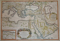 (Map / Chart- Ottoman, Turkish Empire): Estats De L'Empire Du Grand Seigneur Des Turcs, En Europe, En Asie, et En Afrique, Divise En Touts Ses Beglerbeglicz, Ou Gouvernments by  Alexis-Hubert Jaillot - 1695 - from The Prime Meridian: Antique Maps & Books and Biblio.com