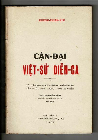 : Dân-sanh phuc-vu xã, 1962. First edition, 8vo, pp. , ix, , 406, ; fine in original printed w...